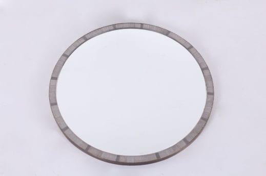 Miroir rond mosaïque Berthold Muller Oerlinghausen