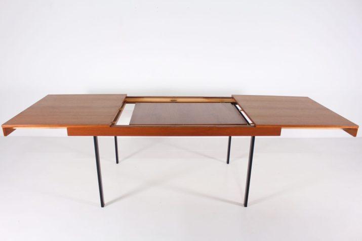 Grande table à allonge Pierre Guariche