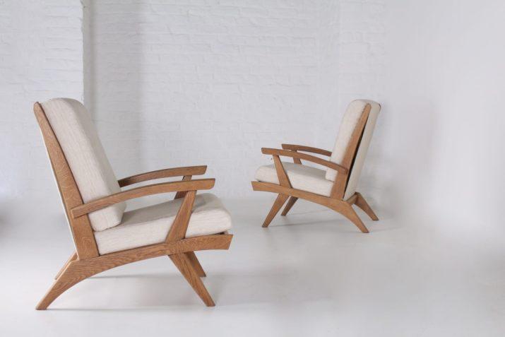 """Paire de fauteuils Free-Span """"FS 116"""""""