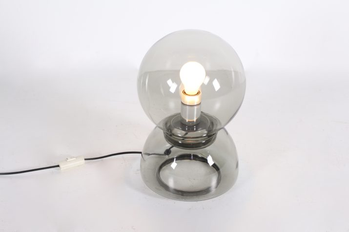 Lampe double globe Peill & Putzler