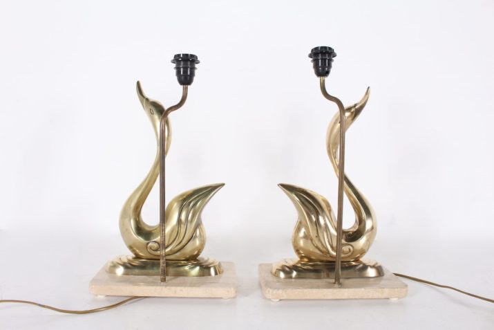 Lampes canards en laiton