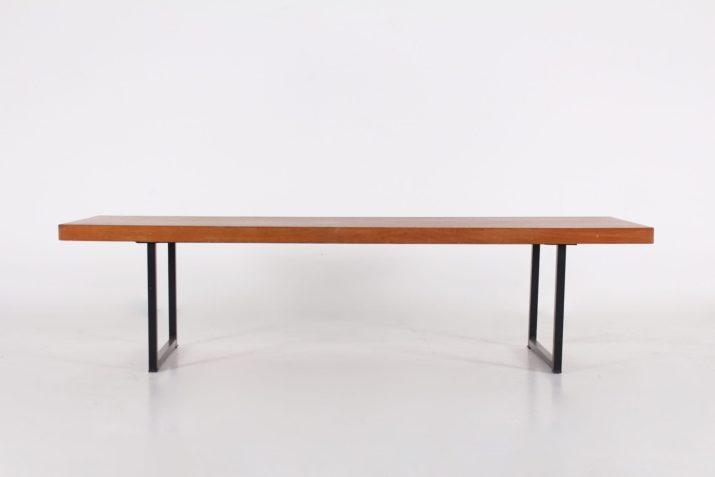 Table basse banquette Pierre Guariche
