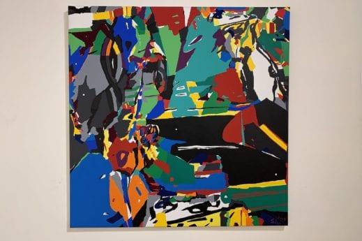 Luis Salazar Acrylique sur toile, 2004.