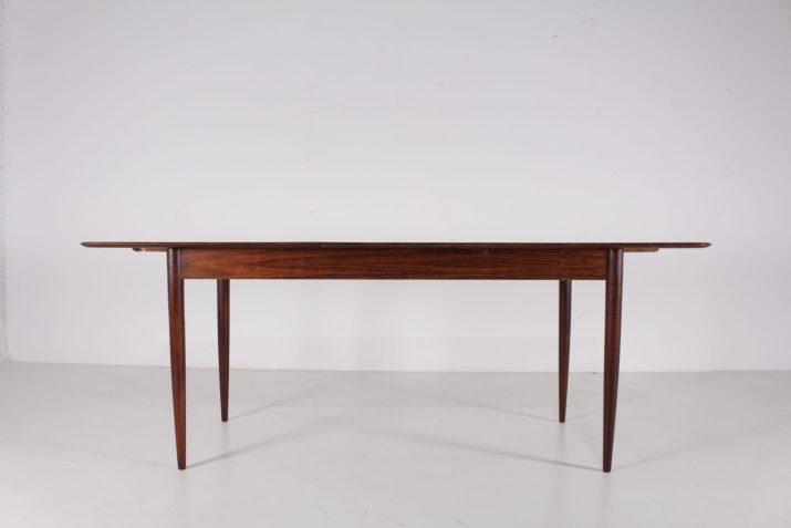 Table à allonge en palissandre