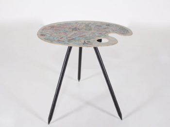 """Table tripode """"Pic-Nic"""" Lucien De Roeck  Expo 58"""