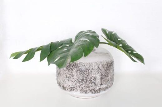 Important vase pansu
