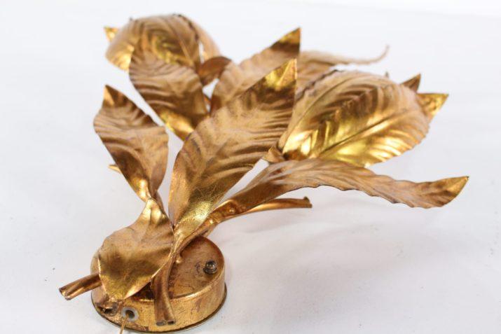 Applique florale dorée Hans Kögl
