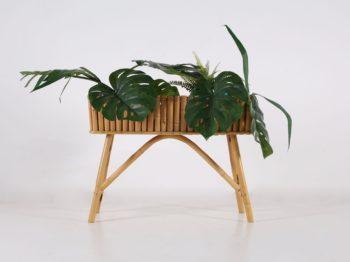 Jardinière en bambou 1960