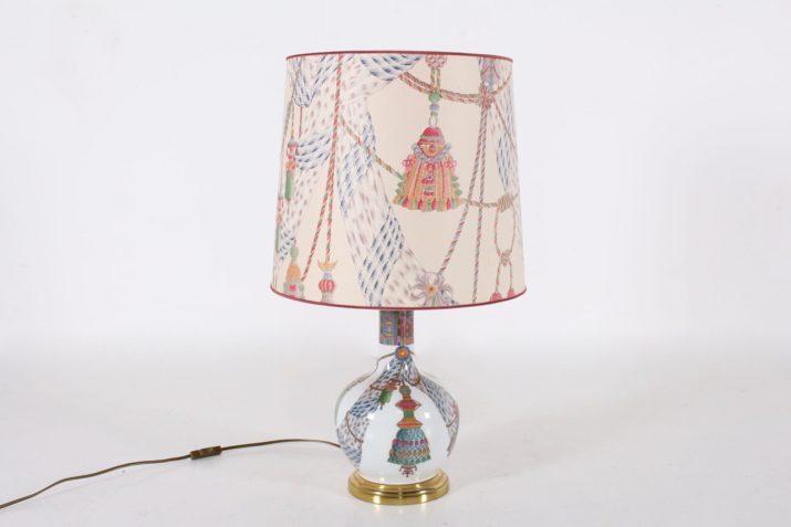 Lampe Porcelaine de Paris
