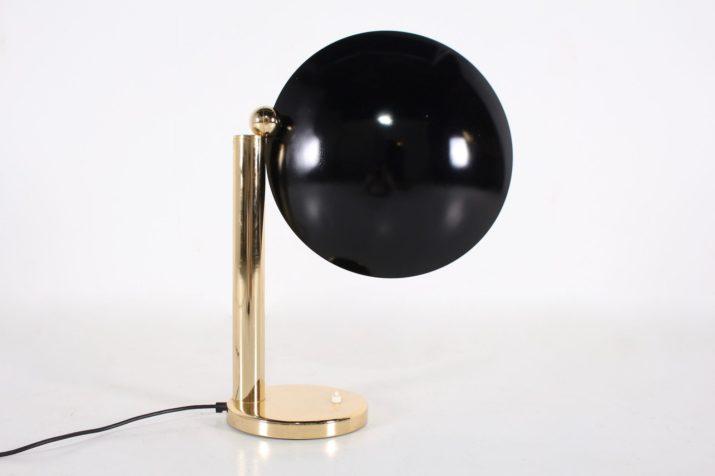 Lampe postmoderniste / Memphis en laiton