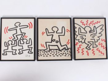 """Keith Haring """"Bayer Suite """""""
