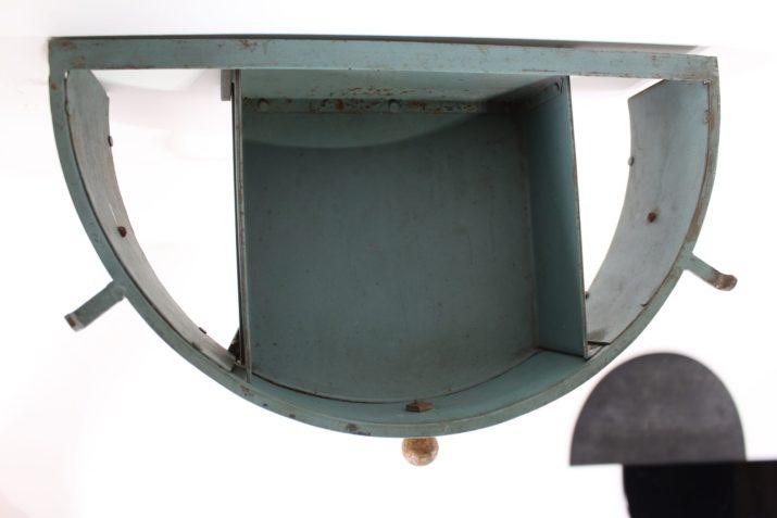 Paire de consoles d'appliques en métal