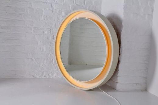 Grand miroir lumineux, 1970's