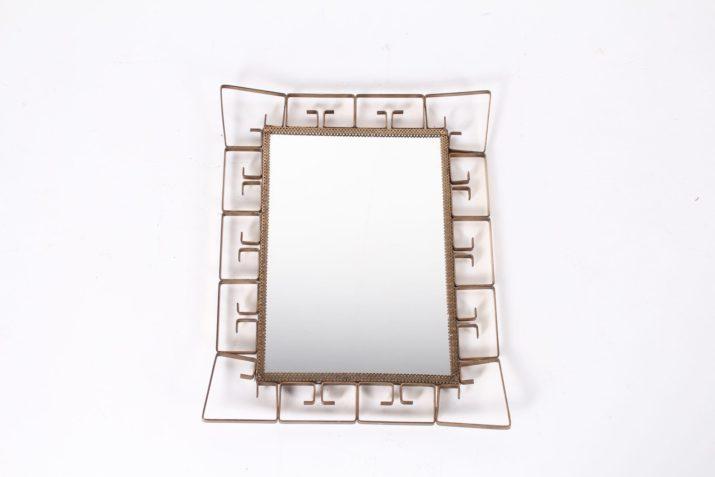 Petit miroir en laiton
