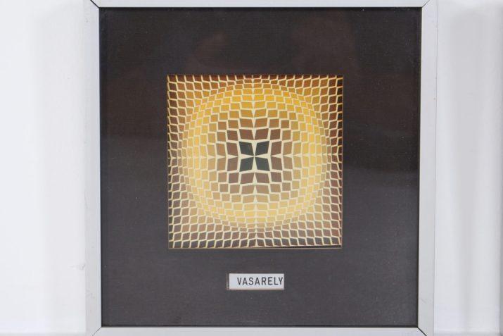 Triptyque Victor Vasarely
