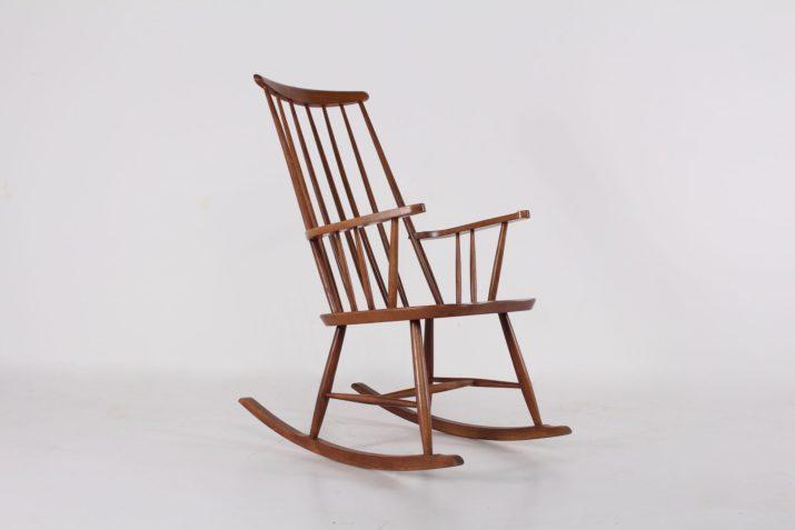 Rocking chair de style scandinave
