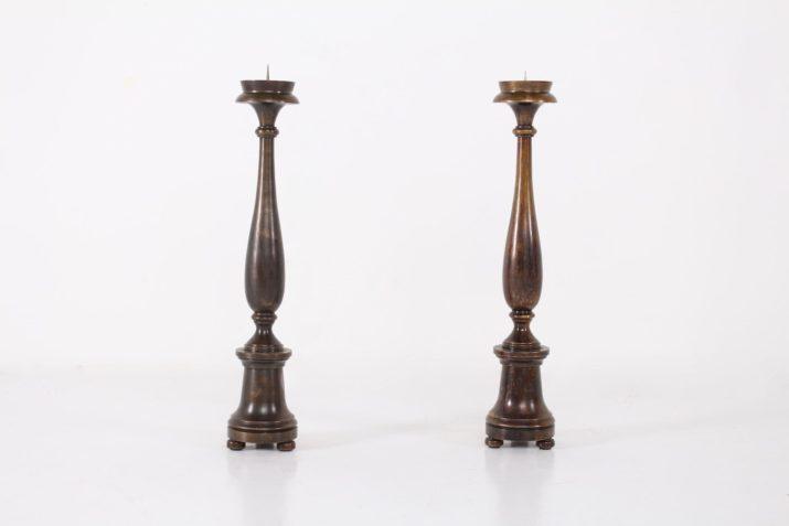 Pique-cierges en bronze*OPTION*