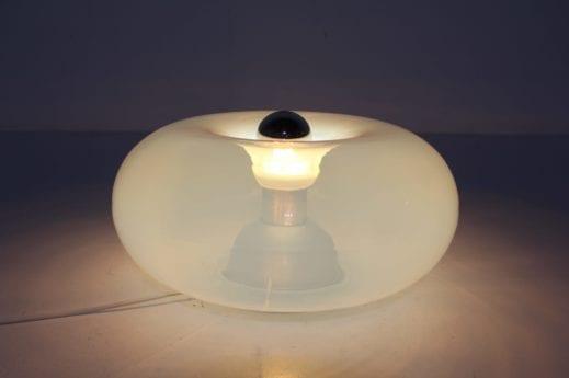 Lampe opalescente Murano 1970's