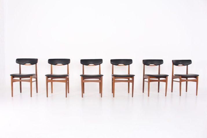 6 chaises scandinaves Andersen & Samcom