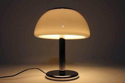Lampe champignon space-age