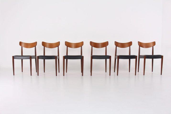6 chaises Oswald Vermaercke