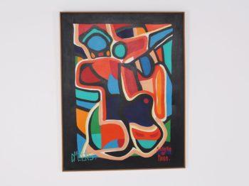 Composition abstraite, Daniel Meyers.