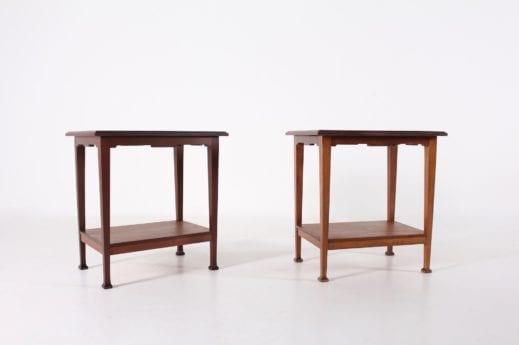 Paire de bouts de canapé Art Nouveau