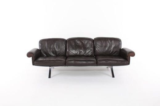 """Banquette sofa en cuir de Sede """"DS-31"""""""