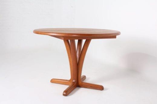 Table ronde à allonge danoise ***OPTION***