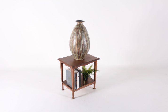 Grand vase, grès d'art Roger Guérin.