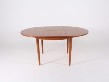 Table scandinave ronde à allonge ***VENDU***