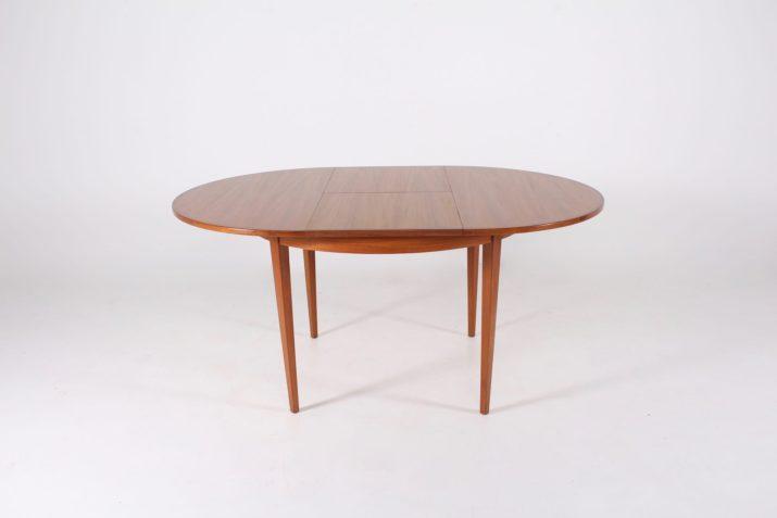 Table scandinave ronde à allonge