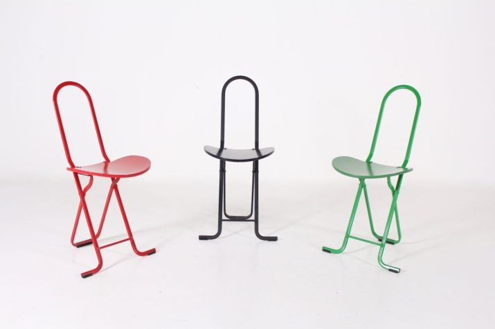 """Set de chaises d'appoint """"Dafne"""" par Gastone Rinaldi"""
