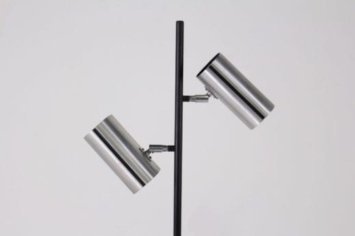 Lampadaire space-age minimaliste