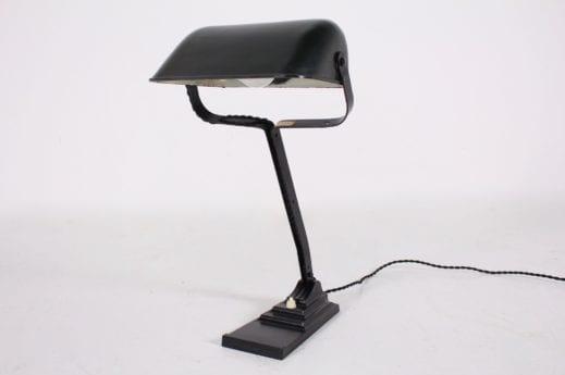 Lampe Erpe réflecteur en bakélite.