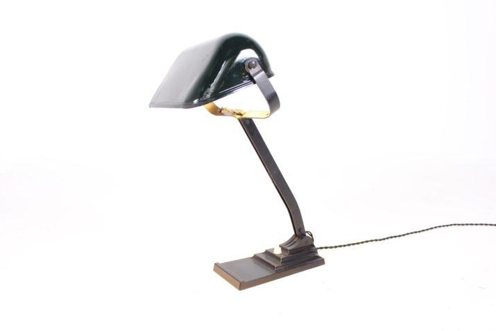 Lampe Erpe réflecteur en émail