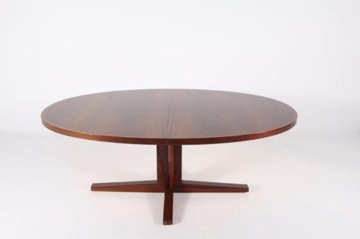 Table à allonges en palissandre John Mortensen