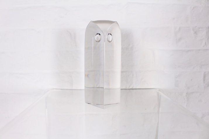 Hibou en cristal Yan Zoritchak