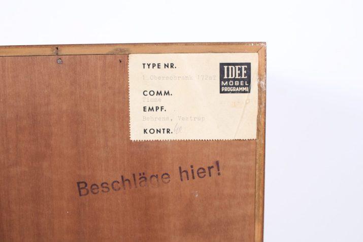 Buffet moderniste Erich Stratmann