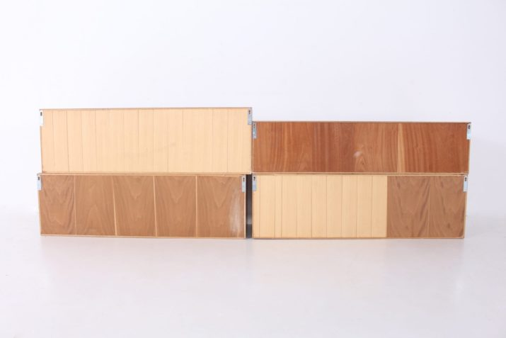 Caissons suspendus minimalistes