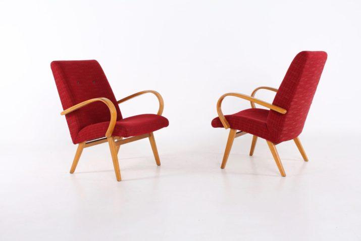 Paire de fauteuils à accoudoirs