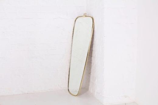Miroir italien en laiton
