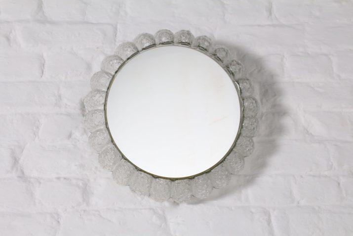 Miroir lumineux en verre