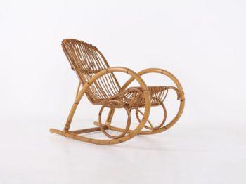 Rocking chair en bambou
