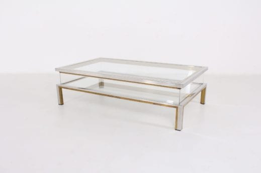 Table basse vitrine Maison Jansen ***OPTION***
