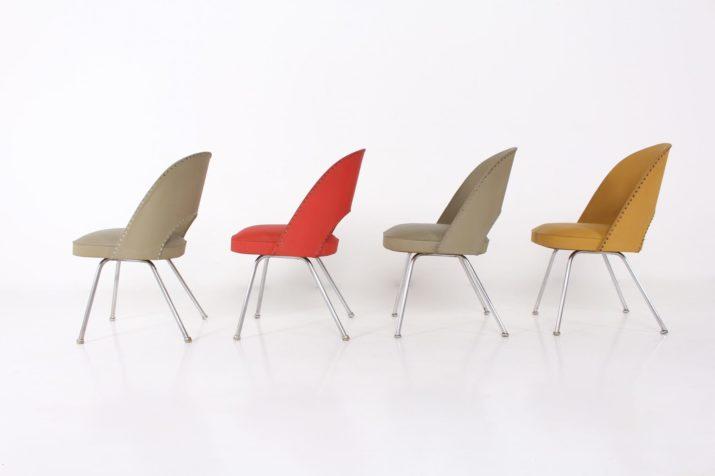 4 chaises executive Thonet