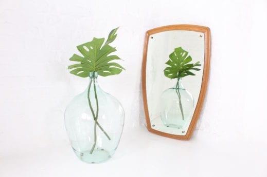 Grand miroir scandinave forme libre