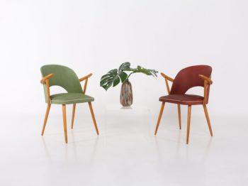 """Paire de chaises """"tonneau"""""""