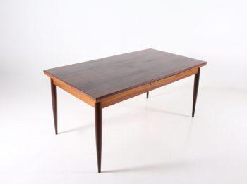 Table à allonges en palissandre Oswald Vermaercke & V-Form.