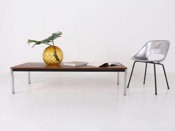 Table basse en wengé, Spectrum & Visser.